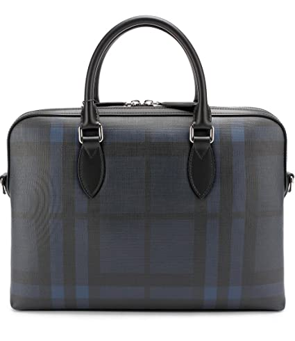 Amazon.com  Burberry Burberry THE BARROW Briefcase (Navy Black) 4006212   Computers   Accessories 0f8c62f67a629
