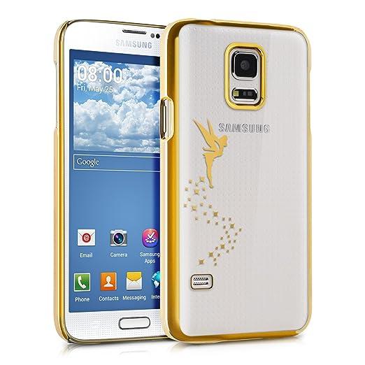 18 opinioni per kwmobile Elegante e leggera custodia Crystal Case Design fata per Samsung Galaxy