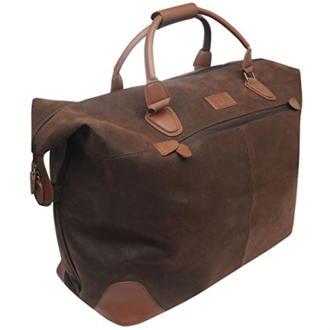 Kangol Overnight Holdall Brown -  Amazon.co.uk  Luggage d20c132a2308c