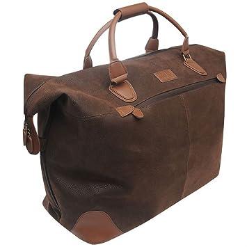 5c1d03e7 Kangol Overnight Holdall Brown -: Amazon.co.uk: Luggage
