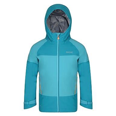 65f181ea5 Regatta Great Outdoors Childrens/Kids Aptitude II Waterproof Jacket (5-6  Years) (Black): Amazon.co.uk: Clothing
