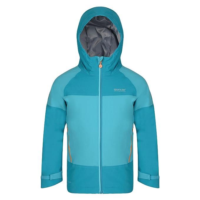 4277e7d6979a Regatta Great Outdoors Childrens Kids aptitude II Waterproof Jacket ...