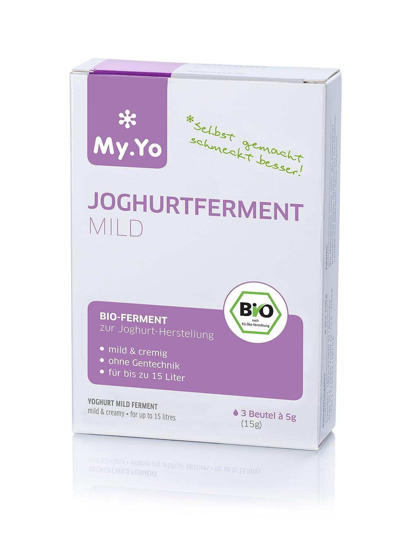 Bio-Joghurt mild 3 Beutel: Amazon.es: Alimentación y bebidas