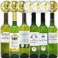シニアソムリエ厳選 直輸入 全て金賞ボルドー 辛口白ワイン6本セット((W0SK04SE))(750mlx6本ワインセット)