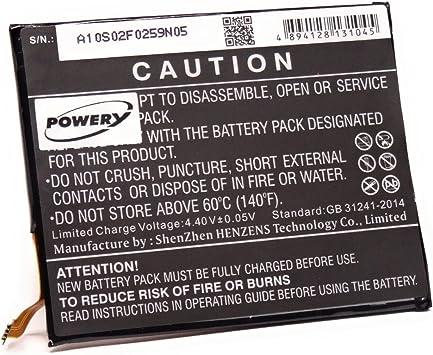 Batería para smartphone Alcatel 5085 g, 3,85 V, polímero de litio ...