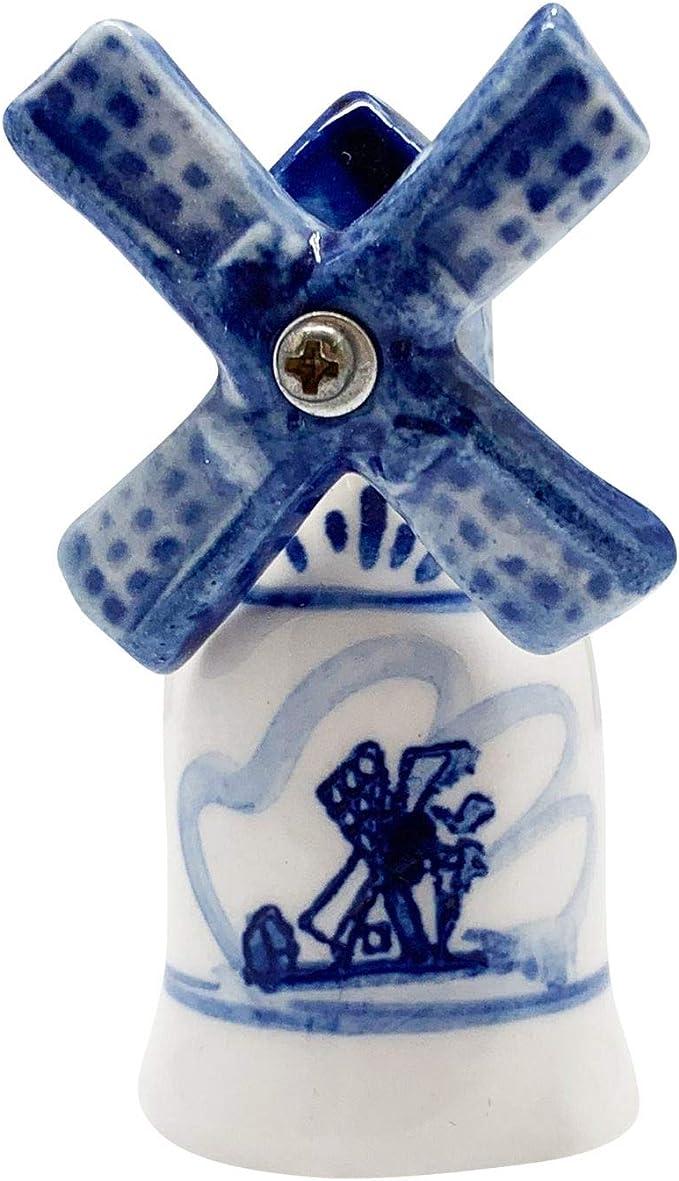 Blue Delft Designs Set of Three Birchcroft China Thimbles