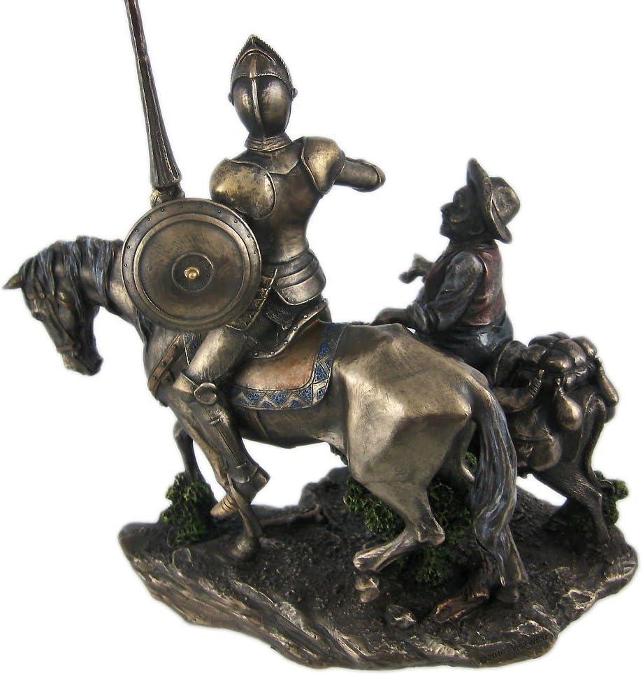 Don Quixote /& Sancho Panza Statue Sculpture