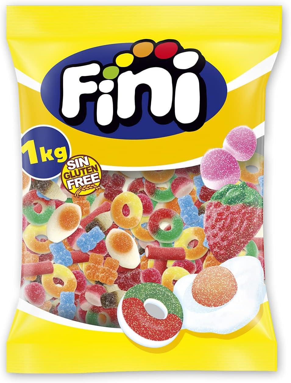 1kg de gominolas Fini Mix por sólo 4,80€ ¡¡36% de descuento!!