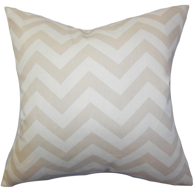 The Pillow Collection Xayabury Zigzag Throw Pillow Cover