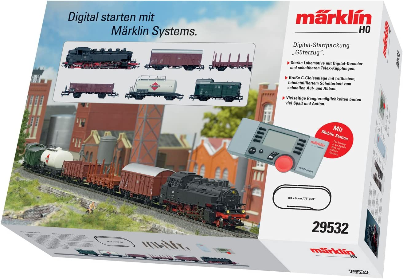 Märklin 29000 Digital-Startset Mobile Station 2 /& Schienen H0