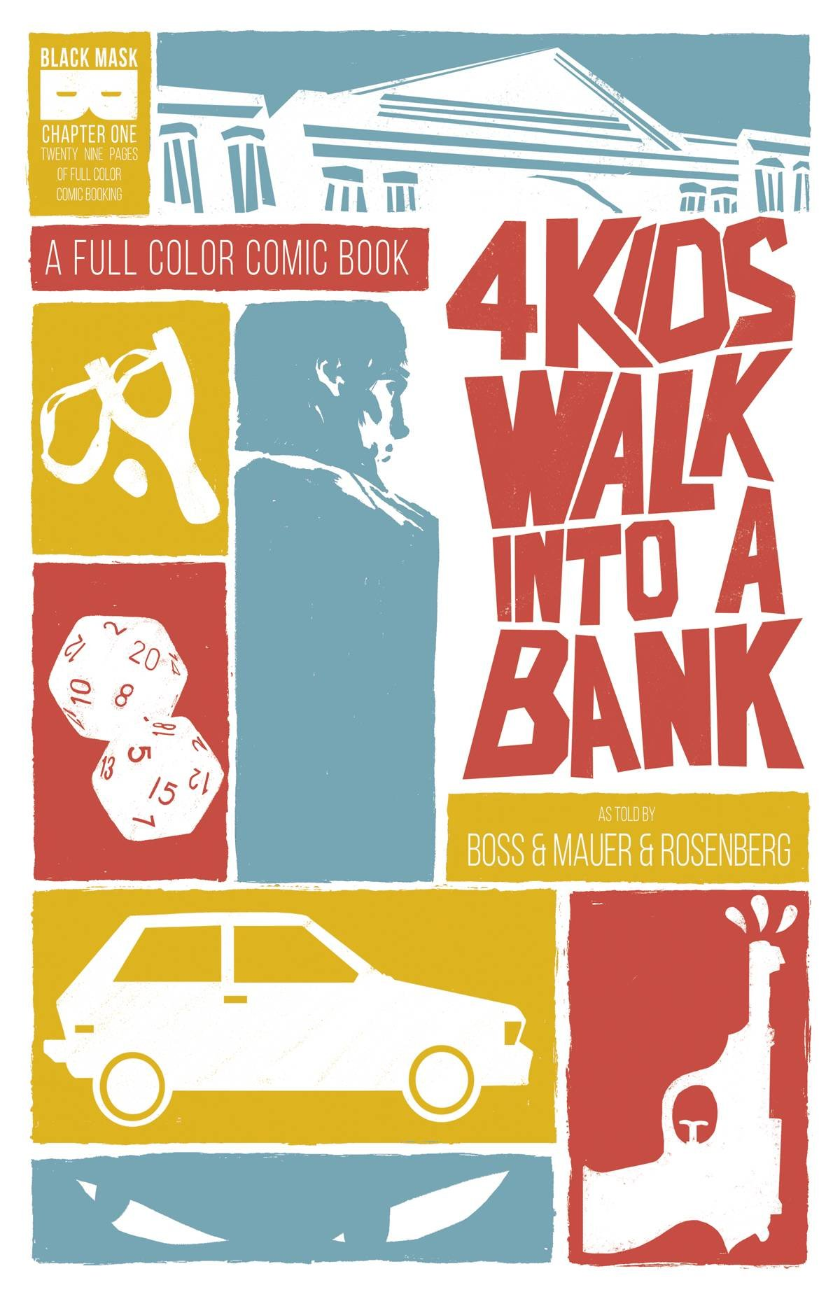 Image result for 4 kids walk into a bank