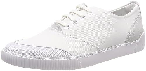 Hugo Zero, Zapatillas para Mujer, Blanco (White 100), 40 EU HUGO BOSS