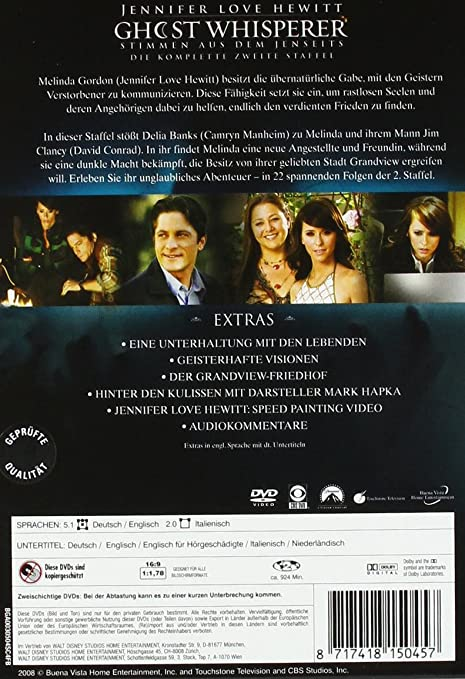 Ghost Whisperer Die Komplette Zweite Season 6 Dvds Amazon