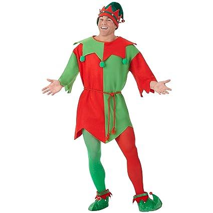 Amazon.com: Túnicas Elf Costume – Estándar – Tamaño vestido ...