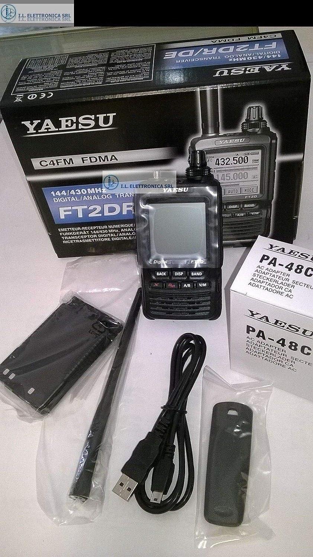 Yaesu Ft 2de Black Hd With Battery High Capacity Elektronik