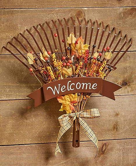 Amazon.com: Cartel de bienvenida de otoño – Decoración de ...