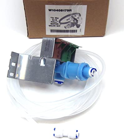 Ice Maker Water Valve Whirlpool Kenmore Coldspot Kitchenaid Superba Refrigerator