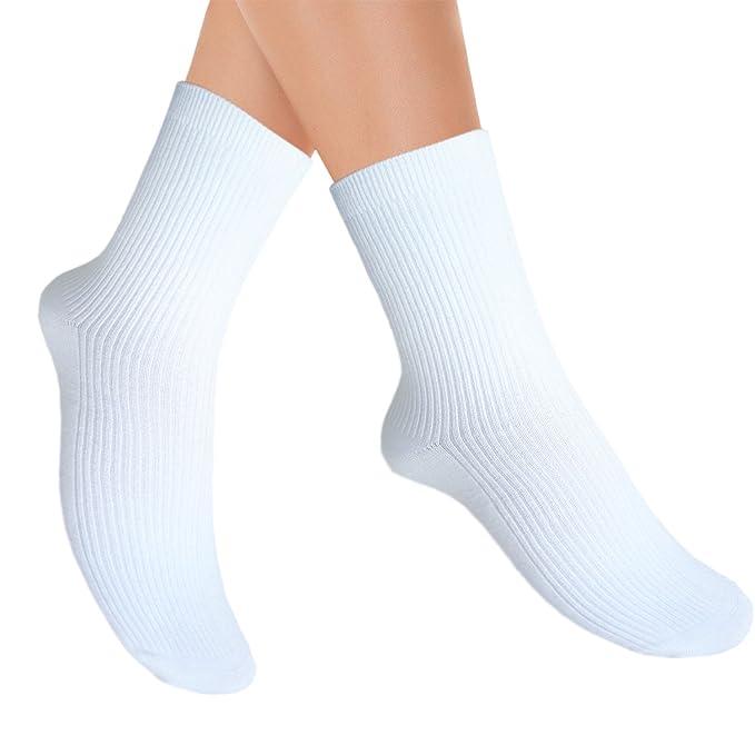 JHosiery Calcetines de bambú unisex con costura mínima para pies ...