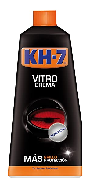 KH-7 - Vitro Crema - Desincrusta superficie de acero inoxidable - 450 ml