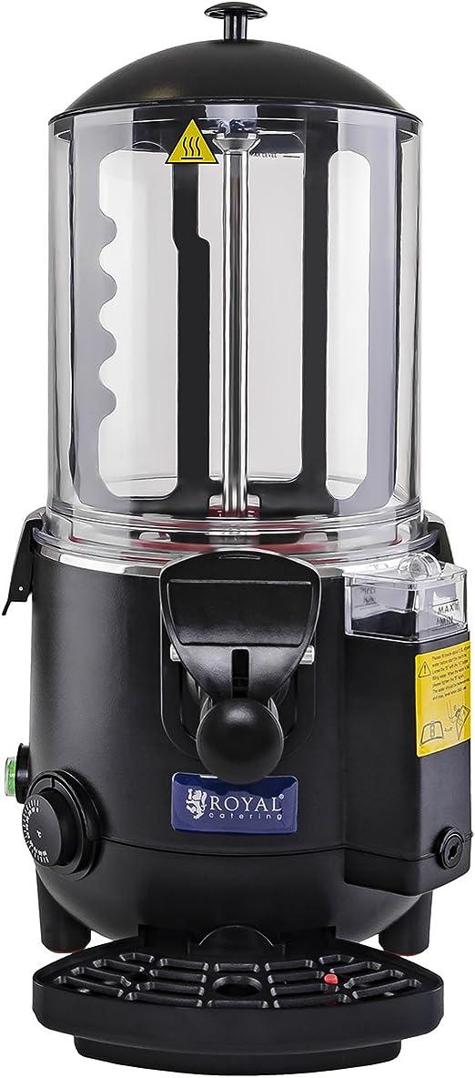 Royal Catering - RCSS-10 - Dispensador de chocolate - 10 litros - 1000 watt: Amazon.es: Hogar