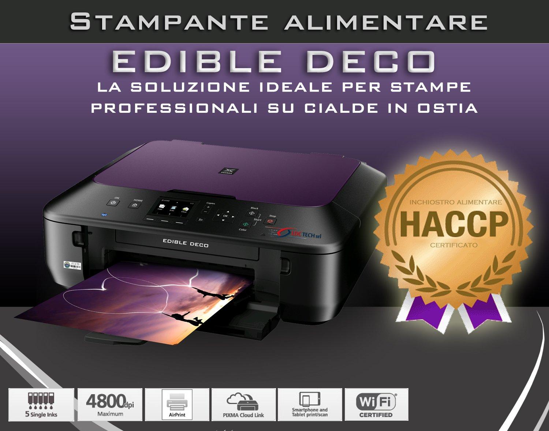 Comestibles Eco Impresora; Multifunción con Tinta Comestible, A4 ...