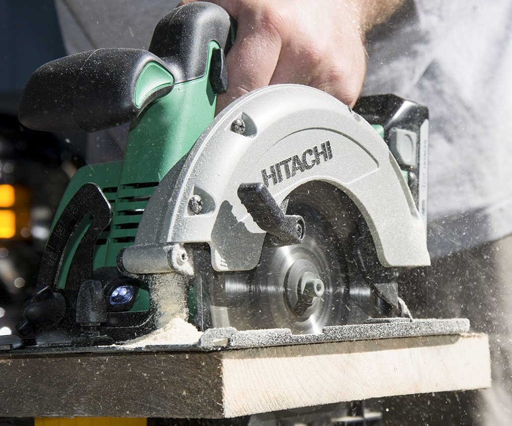 Hitachi C18DGLP4 18V Cordless Lithium-Ion 6-1/2'' Circular Saw with Lifetime Tool Warranty (Tool Only, No Battery)