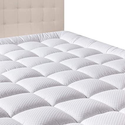 Amazon Com Domicare Twin Xl Mattress Pad Cover Cotton Down