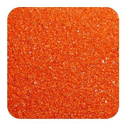 Sandtastik Fl2810 Floral Colored Sand 28 Oz. Bottle Orange