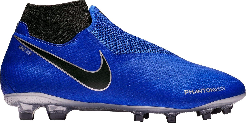best service 7c481 0e803 Nike Phantom Vision Pro Dynamic Fit FG Soccer  Cleats(Blue/Silver,M5W65,Medium)