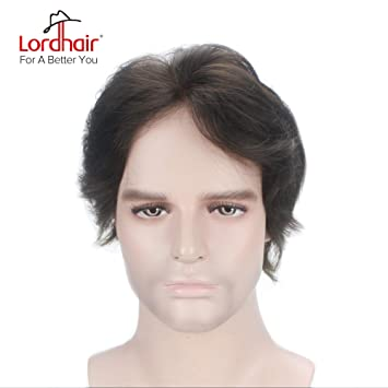 Amazon Lordhair Toupee With Human Hair Full French Lace