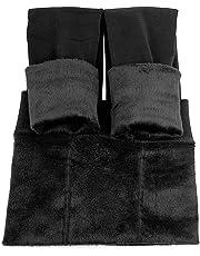 La Dearchuu Winter Leggings Womens Warm Fleece Lined Leggings Soft Stretchy Leggings Thick Thermal Leggings for Women