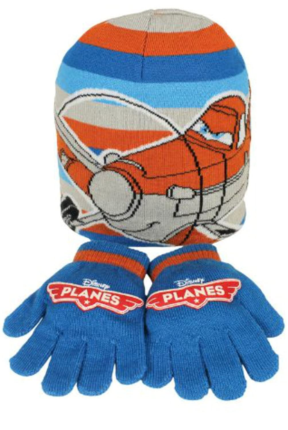Disney Planes - 2 piece Hat and Gloves Set PM-XRWE-43OF