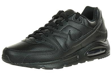 promo code 53eb2 4e0ac Nike Air Max Command Leather 409998, Homme Chaussures De Sport 38,5 Noir