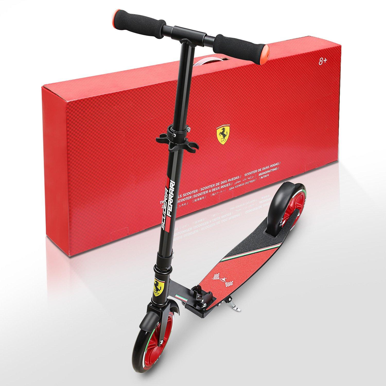 Ferrari Scooter Patinete para niños más de 8 años Dos Ruedas ...