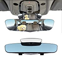 Deals on Daymaker Anti Glare Clip-on Blind spot Car Mirror 13-inch