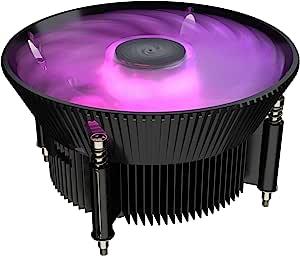 Cooler Master RR-I71C-20PC-R1 i71C RGB Intel only CPU Air Cooler Anodized Black Aluminum fins 120mm RGB Master Fan