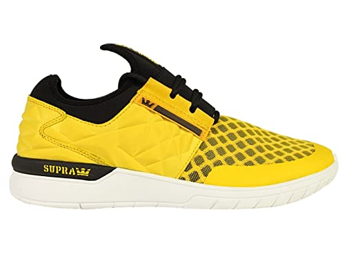 fd87f06ced0d Supra Mens Flow Run Evo Goldenrod White Shoes Size  Amazon.ca  Shoes ...