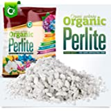 Organic 10 Quarts Coarse Perlite for All Plants - Horticultural Soil Additive Conditioner Mix - Grow Media - Orchids • Hydrop