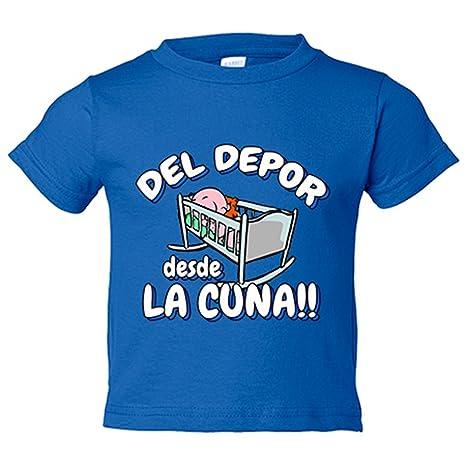 Camiseta niño del Depor desde la cuna La Coruña fútbol ...