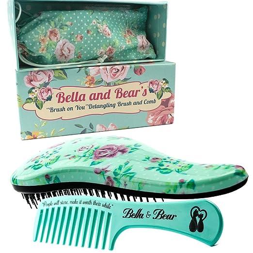 Set Spazzola By Bella & Bear, La Migliore Spazzola E Pettine Anti ...