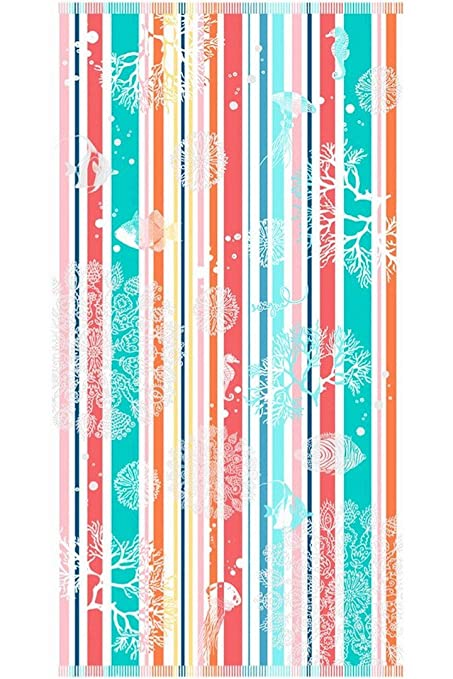 Desigual – Toalla de ducha (160 x 86 cm Shower Towel _ Under The Sea