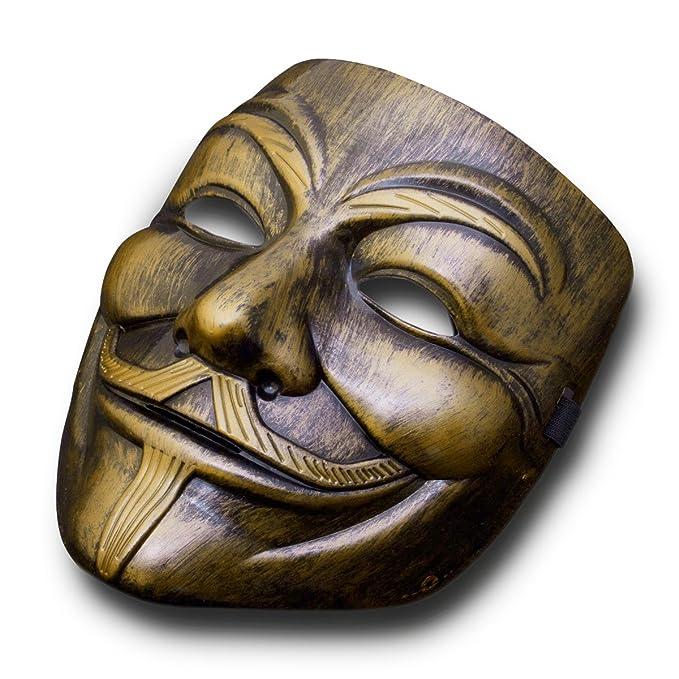 2 opinioni per Goods & Gadgets- Maschera V per Vendetta di Anonymous, Riproduzione, Colore:
