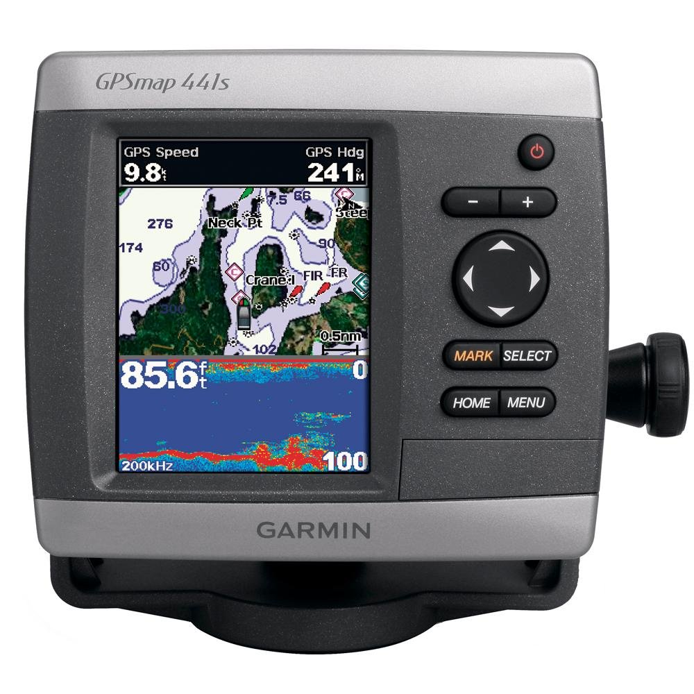 garmin gpsmap 441s gps receiver marine 4\