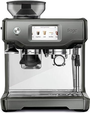 SAGE SES880SHY the Barista Touch, Cafetera espresso, Cappuccinatore, 15 Bar, plata: Amazon.es: Hogar