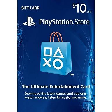 Sony PSN LIVE CARD 10 dollars - accesorios de juegos de pc ...