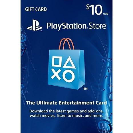 Sony PSN LIVE CARD 10 dollars - accesorios de juegos de pc: Amazon ...