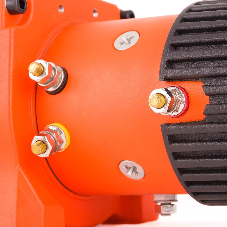 Rhino - Cabrestante Eléctrico 9072 kg - Sistema Inalámbrico 12 V - Cable de Acero