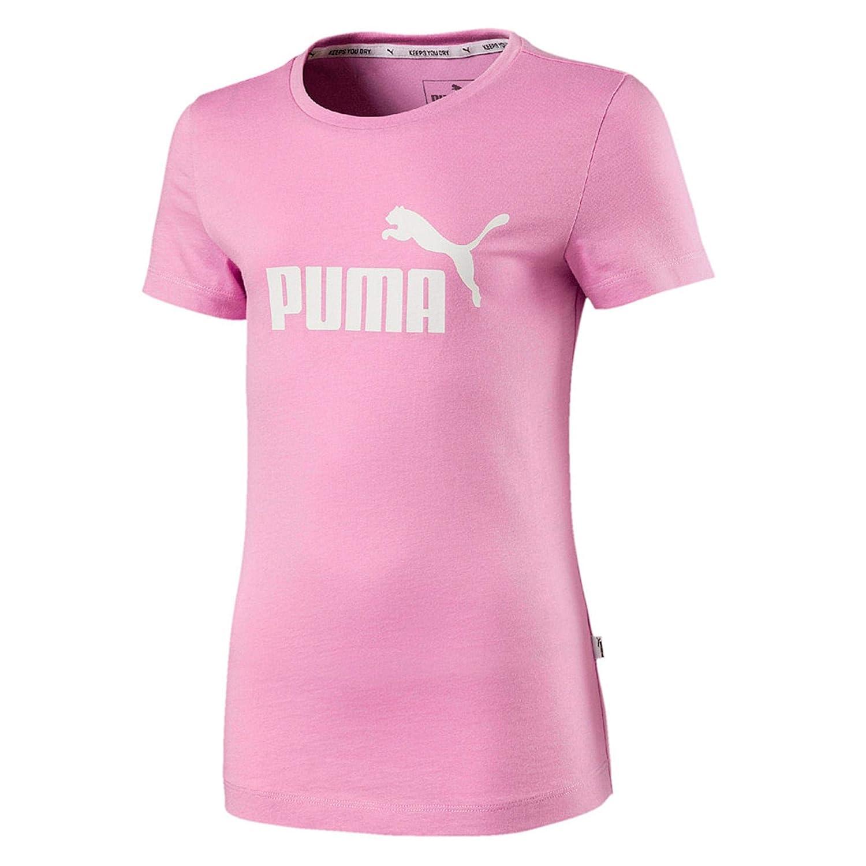 5ed444f6c16 Puma Ess Tee G, T-Shirt girl, Girls', 851757: Amazon.co.uk: Sports &  Outdoors
