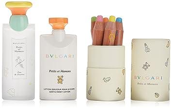 Bvlgari Petits Et Mamans Set 100ml/3.4oz EDT Spray + 75ml/2.5oz Body Lotion + 5 pens