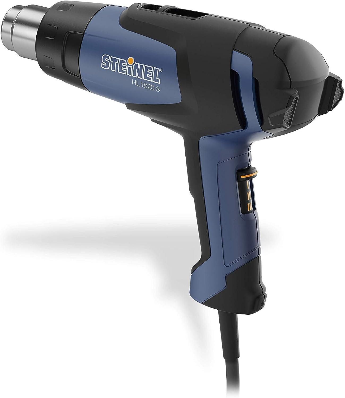 1800 W, 230 V color negro y azul Steinel 033316 HL 1820 S Soplador de aire caliente